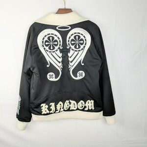 Blood Sweat & Tears Wings Black Track Jacket